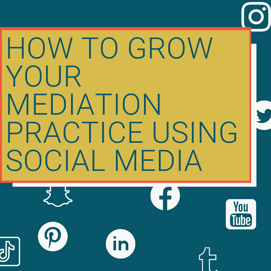 ABA DR Section presentation on marketing your mediation practice